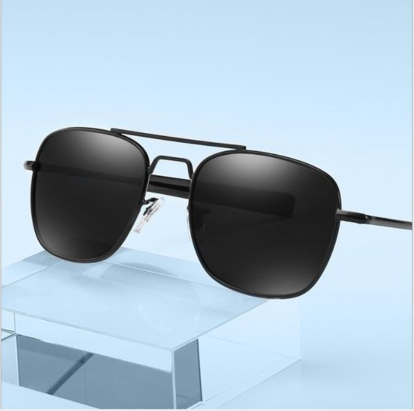 Polarized sunglasses Men's retro pilots'Sunglasses Discolored sunglasses driver's night vision goggles