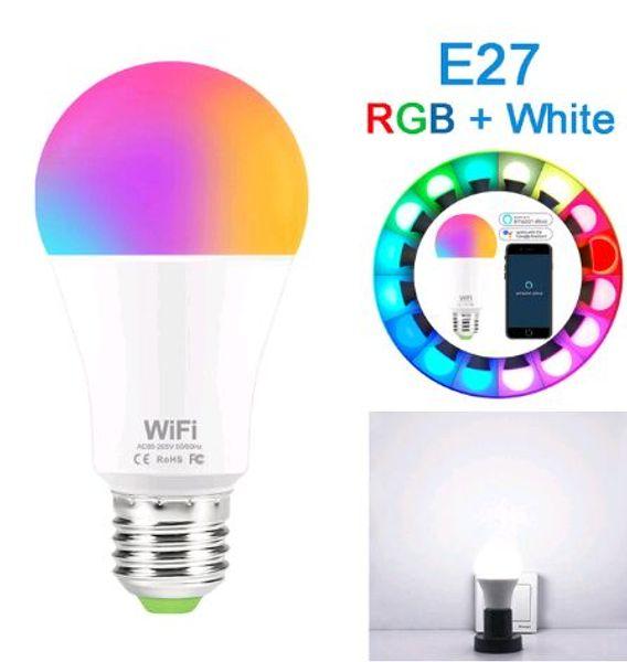 E27 RGB Branco