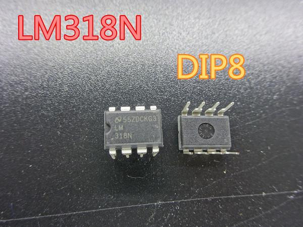 20 adet / grup Yeni Entegre Devreler LM318N LM318 DIP8 Operasyonel amplifikatör stokta ücretsiz kargo