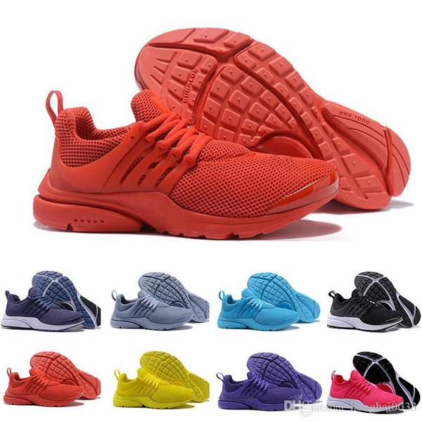Yeni 2018 Uçmak Presto Ultra Olimpiyat Erkekler Kadınlar Koşu Ayakkabıları Donanma Siyah Moda Casual Prestos Erkek Eğitmenler Spor Sneakers Boyutu 36-45