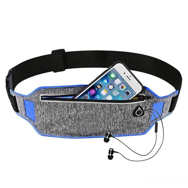 Designer-professionale Esecuzione sacchetto della vita del Cintura Sport Cellulare donne degli uomini con il sacchetto di ginnastica Hidden Borse in corso Marsupio