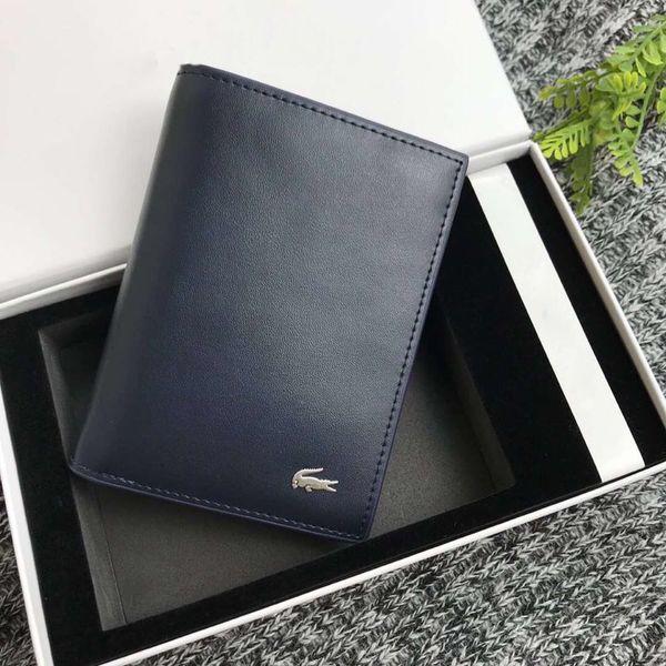 New Designer Luxury Handbags Purses Men Leather Wallet High Quality Wallets Men Purse Male Clutch Phone Bag Coin Purse Card Holder