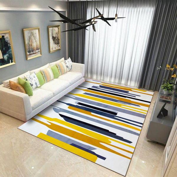 Acheter 10 Couleurs Antiderapant Doux Motif Geometrique Tapis Grande Taille Home Area Carpettes Bebe Plancher De Ramper Tapis Pour Salon Enfants