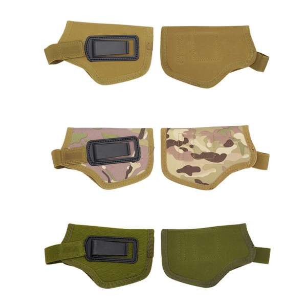 military tactical waist pack nylon gun holder left right available pistol handguns concealed carry holsters 15 by 9.5cm