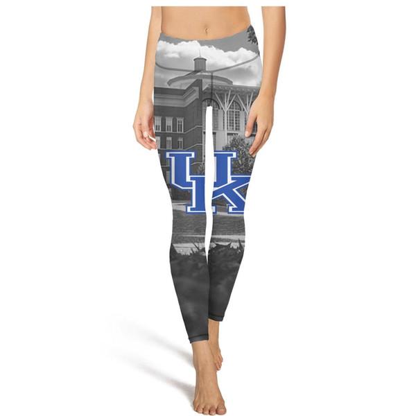 Moda kadın büyük boy rahat yumuşak yoga pantolon koşu için uygun