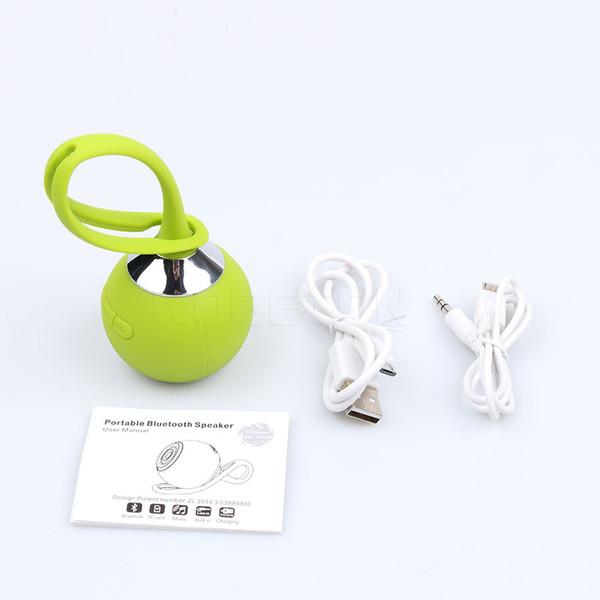 kebidumei Mini Bluetooth speaker Portable Wireless waterproof Ball Shape speaker Car music play Phone MP3 player Accessories