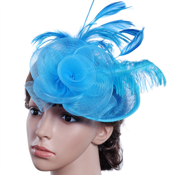 European And American Party Formal Women Hats For Wedding Party Evening Special Occasion Formal Ladies Bridal Hats Accessories