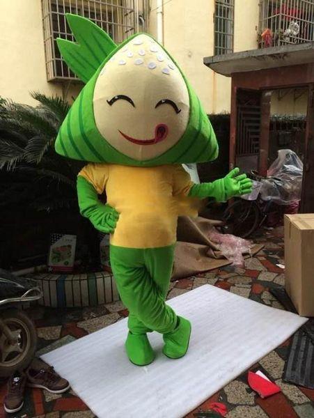 Dragon Boat Festival De délicieuses boulettes de dessins animés mascotte costumes accessoires costumes Halloween livraison gratuite