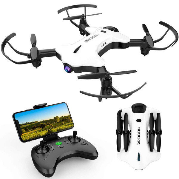 DROCON Ninja Drone for Kids & Beginners FPV RC Drone with 720P HD Wi-Fi Camera,Quadcopter Drone with Altitude Hold, Headless Mode