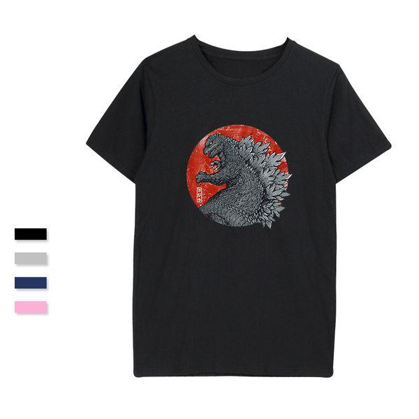 SMZY TOKYO KAIJU T-shirts Interesting Tag-free Popular T shirts Men 2018 Short Sleeve Fashion Vogue Tshirts Homme Funny Clothes