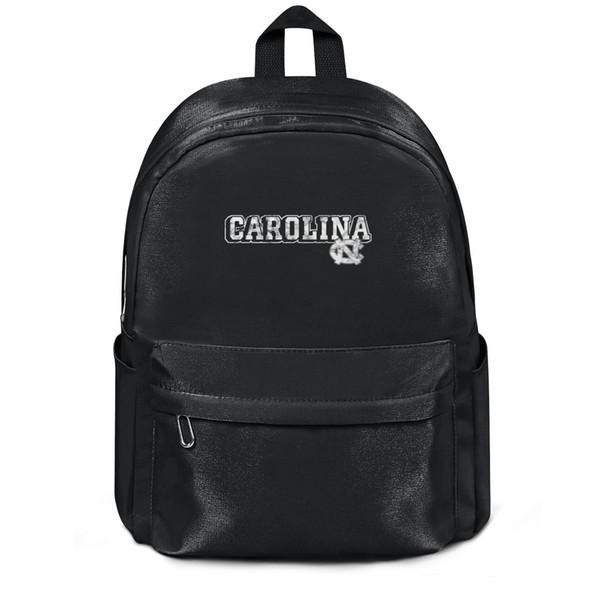 Package,backpack North Carolina Tar Heels basketball Marble Print logo black designer vintagepackage daily yoga Travel Beachbackpack