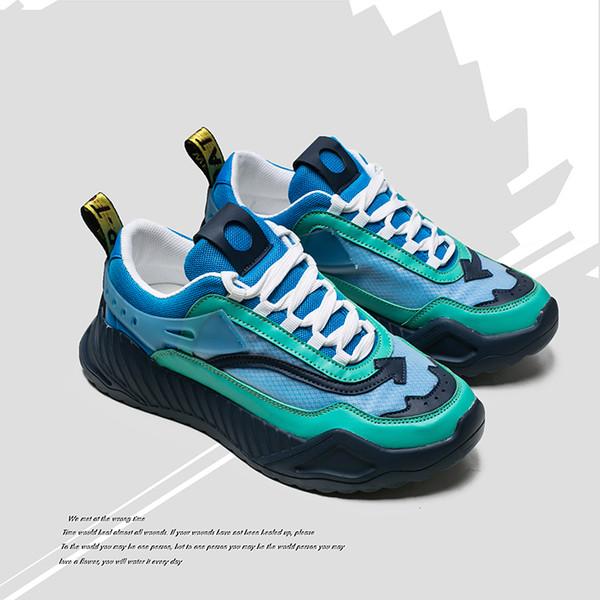 JINBAOKE Ins Venda Quente Tênis Homens Novos Cores Misturadas Homens Sapatos De Borracha Caminhadas Calçados Marca de Designer de Marca Sneakers Zapatillas