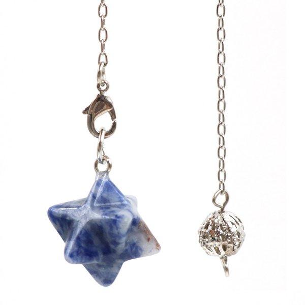 Pedra de veia azul