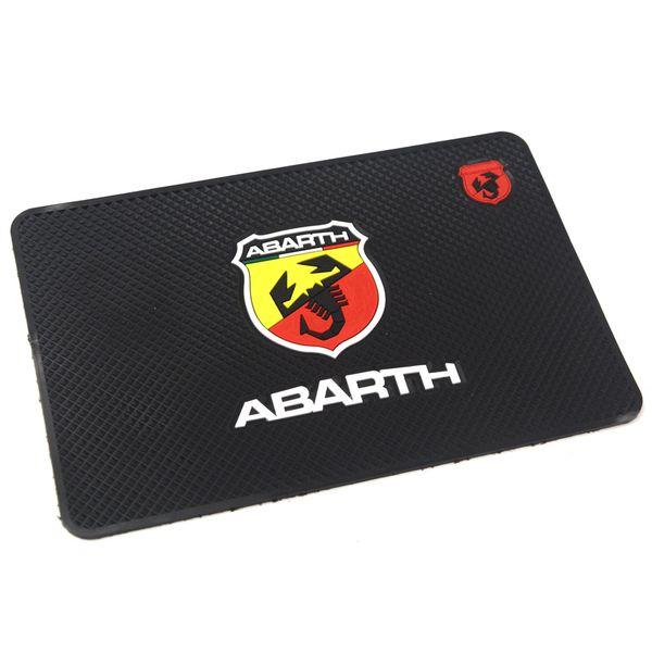Gzhengtong Car Acessories Mat Non Slip Pad Cartoon Dashboard Car Slip Sticker Sticky Pad Anti Slip For Fiat Abarth Logo