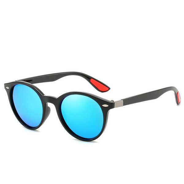 Top quality Sunglasses Fashion Men's and Women's Brand designer High-end Round Frame Sunglasses large frame high quality high-end glasses 9