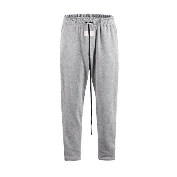FOG Pantaloni Uomo Pantaloni hip-hop stampati Pantaloni neri grigi casuali Pantaloni larghi casual Taglia M-2XL