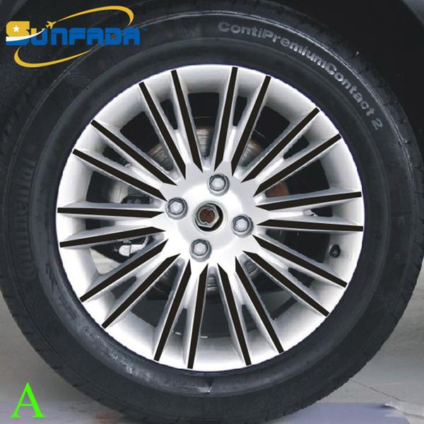 Großhandel Sunfada 16 Zoll Schwarz Carbon Fiber Schutz Vinyl Felge Aufkleber Für Fiat Bravo 2009 2011 Auto Styling Für 4 Räder Von Linglingstore