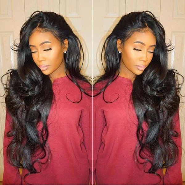 Brazilian Virgin Full Lace Human Hair Wigs Body Wave Glueless Full Lace  Wigs Human Hair Lace 268f4bbef