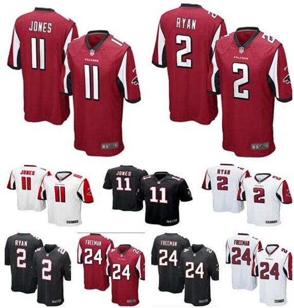 competitive price a573d 8b5cc 2019 Mens Womens Kids Atlanta Jerseys Falcons #11 Julio Jones 2 Matt Ryan  24 Devonta Freeman Football Youth Jerseys From Hua19881105, $15.23 | ...