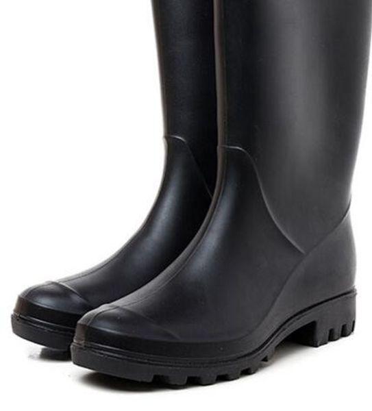 Wedding shoe/2019 NEW Women RAINBOOTS fashion short rain boots waterproof welly boots rainboots water shoes rainshoes high 28cm Wedding shoe