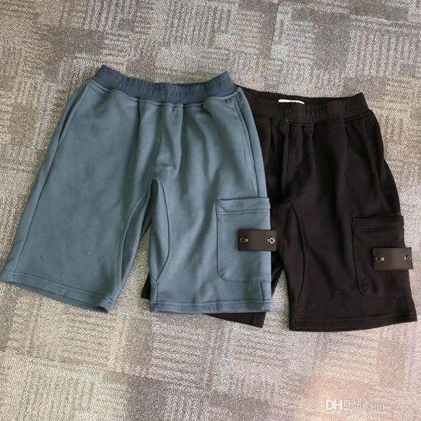 top popular Summer Men shorts Joggers Pants Male Trousers Mens Joggers Solid black blue Pants Cotton shorts M-2XL 2020