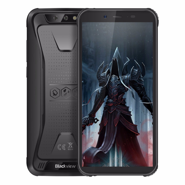 """Blackview BV5500 Pro Smartphone IP68 Waterproof 5.5"""" HD+ Android 9.0 3GB RAM 4G Mobile Phone 8.0MP Camera NFC Rugged Cell Phone"""