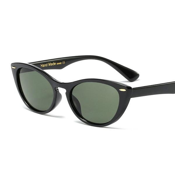 0f85c837a MINCL Moda Homens Óculos De Sol Das Mulheres Acessórios 2019 Retangular  Feminino Óculos de Sol Verde