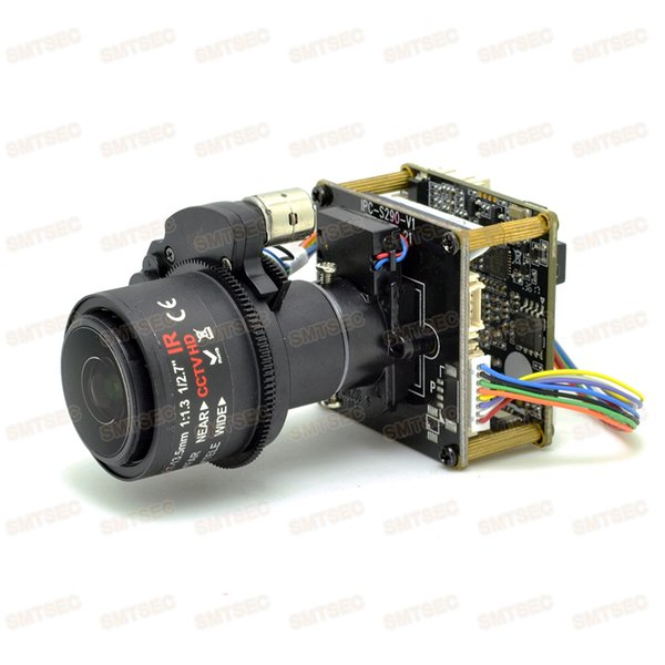 5x Video Zoom Auto Focus WDR 2MP IP Camera Module Panasonic 34229 CMOS CCTV Smart Security IPC Main Board PCB SIP-E229DML-27135