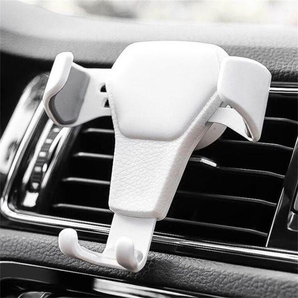 2019 Nova Gravidade Titular Do Carro Para O Telefone no Carro de Ventilação de Ar clipe de montagem não suporte do telefone móvel magnético celular suporte suporte para smartphones
