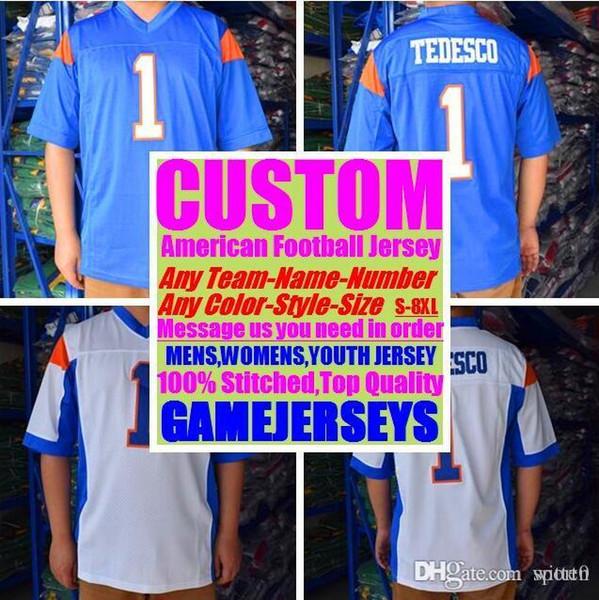 Todos Costurado Personalizado camisas de futebol americano Cincinnati Miami faculdade autêntica barato basquete hóquei de basquete jersey 4xl 5xl 7xl york