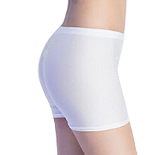 Pantalones cortos de seguridad para mujeres Pantalones cortos de moda para mujer Pantalones cortos con gradas planas Ropa interior de seguridad