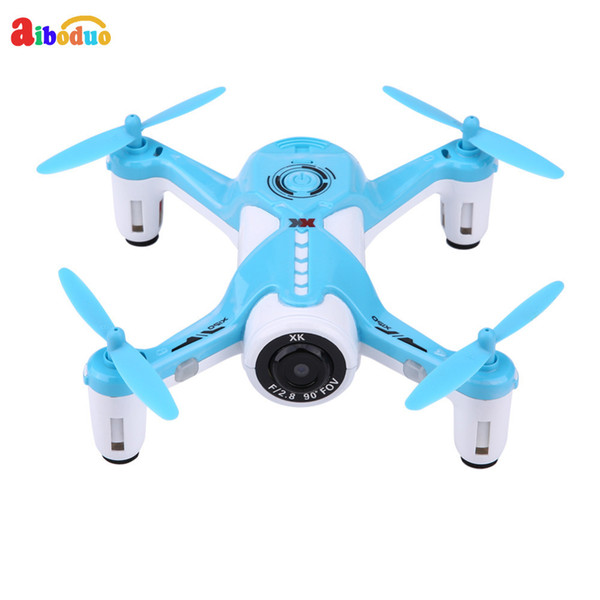 2.4ghz Wifi Drone, New Wifi Optical Flow Positioning Rc Drone Remote Control Quadcopter Toy With 720p Camera Blue For Adult Kids