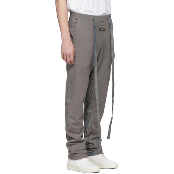19SS FEAR OF GOD 6TH Loopback Cotton-Jersey Track Pants Fashion Skateboard Men Women Casual Trousers Sport Breathable Sweatpants HFLSKZ123
