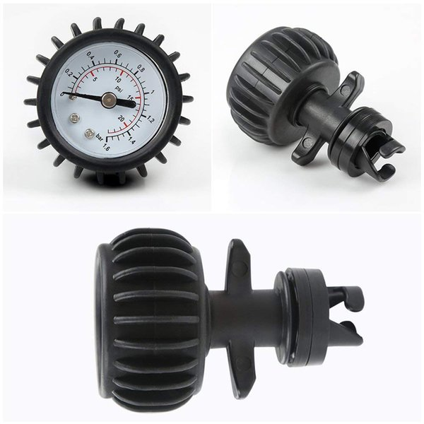 Paddle Board Surfing Barometer Inflatable Boat Test Meter Pressure Gauge Kayak Accessory Connector Professional Air Thermometer