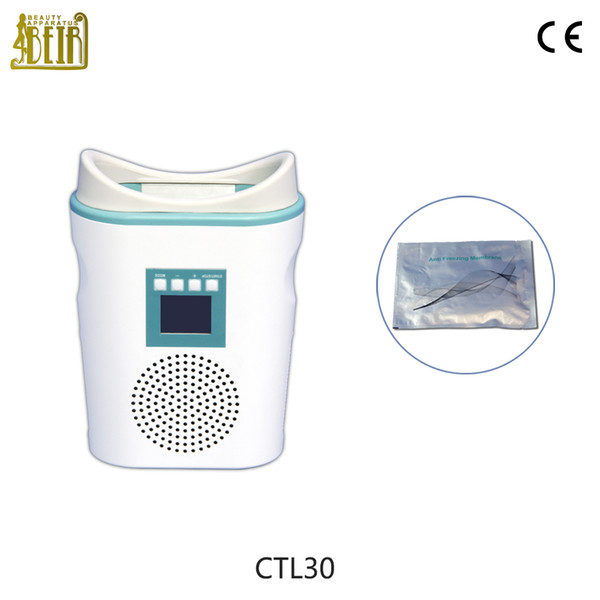Hot sale mini body slimming cryolipolysis cool body sculpting body shaper fat freezer weight loss beauty device for home and salon
