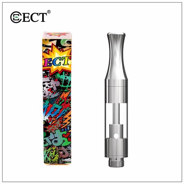 100% original ECT Kenjoy B1 B1S 0.5ml Cerámica Vacío Dab Pen Vaporizador de cera Embalaje Ecigarette Vape Carts Cartucho de aceite 510 Thom Atomizer