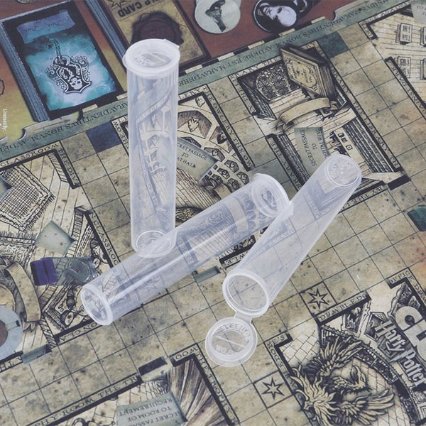 Flip Top Cap Tubi di plastica Vape Package per cartucce di olio spesse Comodo per il contenitore PC di assemblaggio o imballaggio