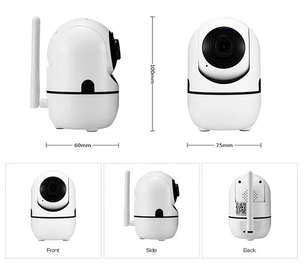 HD 720P Cloud Wireless IP PTZ Camera Intelligent Auto Tracking Of Human Home Alarm WIFI Camera Security Surveillance CCTV