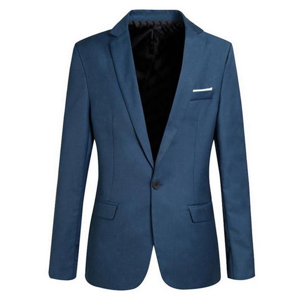 Vogue мужчины Vogueblazers куртки твердые плюс размер 2XL 5XL костюм Весна мужчины с длинным рукавом пальто тонкий Куртки пальто дизайн