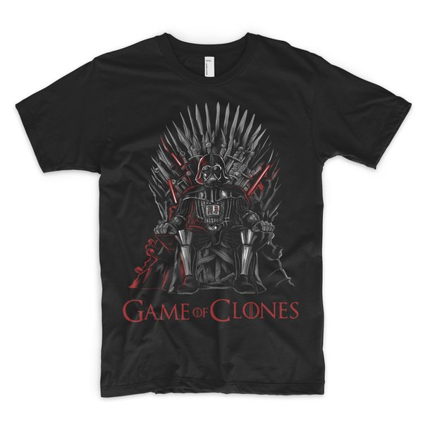 Games Of Clones Thrones T-Shirt Oberes T-Stück Lord Vader Games Of Throne Han Solo