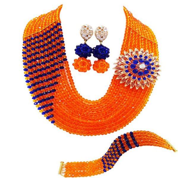 orange königsblau