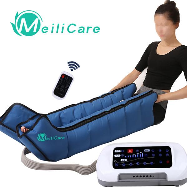 CE presoterapia Aria Compressione Gamba Massaggiatore Piede macchine per massaggio linfatico Pressotherapia Corpo Relax Macchina antidolorifico