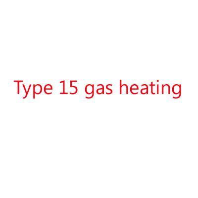 15 chauffage à gaz de type