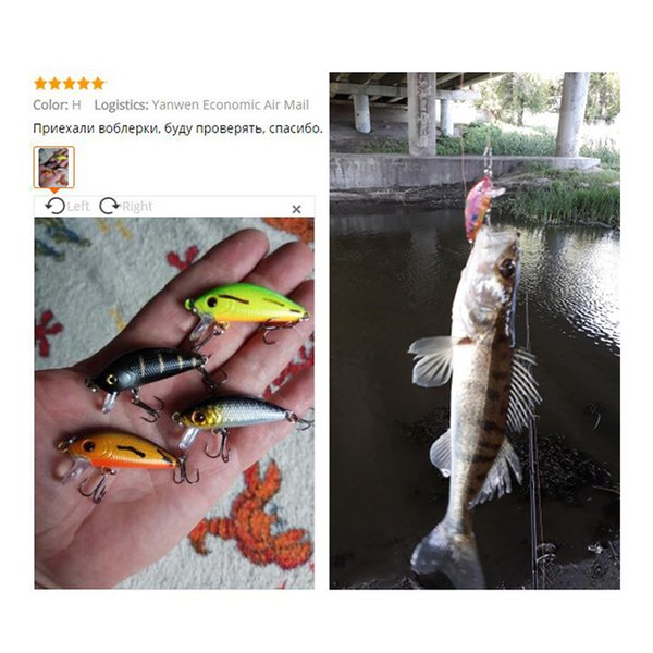 50mm 4.2g Minnow Fishing Lure Floating Artificial Japan Hard Bait Bass Fishing Wobblers Topwater Crankbait Fish Qa203a