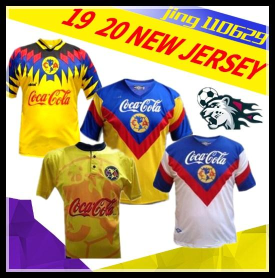 nuevo 1993 1994 CLUB RETRO FUTBOL JERSEYS 93 94 HOME AWAY 95 96 99 LIGA MÉXICO 1999 JERSEY FÚTBOL 1995 1996 CAMISAS
