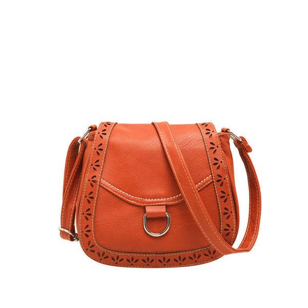 New 2019 Saddle Small Mini Messenger Bag Women Pu Leather Handbags Fashion Ladies Elegant Crossbody Shoulder Bags Bolsa An212