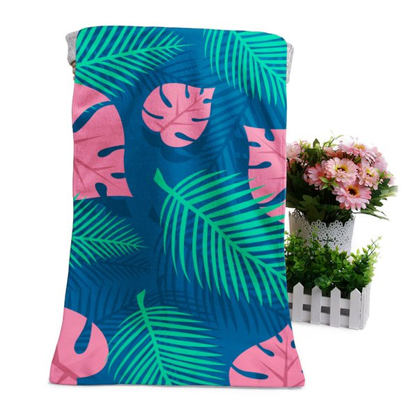 Personalized Custom Design bath towel Microfiber face towel with artwork Hot sale Swimming Camping Bath Yoga Mat Beach Chair Covers