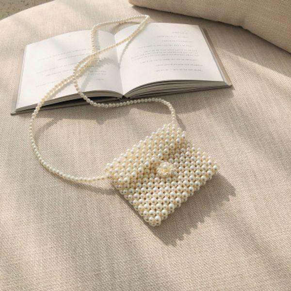 New Brand Mini Pearl Bag Luxury Pearl Women Shoulder Messenger Cuet Bag Girl Designer High Quality Mobile Phone Lipstick