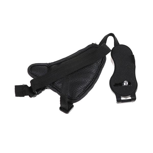1pc Hand Grip Camera Strap PU Leather Hand Correa para cámara Accesorios para fotografía de cámara para DSLR