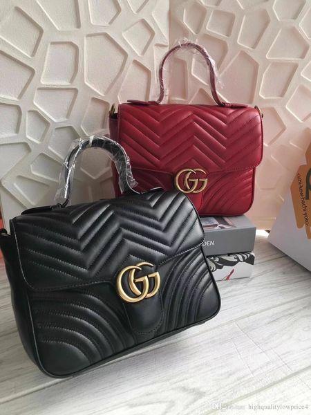 Les couleurs chaudes classiques brwon femmes en cuir lettre achats hommes de mode sac en cuir shouler sac gratuit expédition 498110 27..19..10